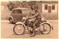 German biker - 17EM (thardy1) Tags: motorcycle motorcyclist biker leather