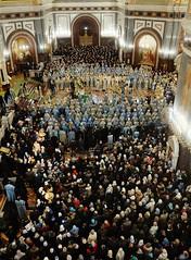 019. Торжественное богослужение в Храме Христа Спасителя 04.12.2017