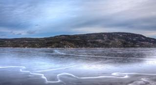 Le grand lac Jacques-Cartier