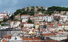 Lisboa, Castelo de São Jorge (duqueıros) Tags: lissabon lisboa lisbon portugal stadt city aussicht overview burg castle castelo castelodesãojorge duqueiros