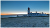 Frosty one morning (malcbawn) Tags: lighthouse frosty sunrise winter dawn souter snow northsea marsden uk cold