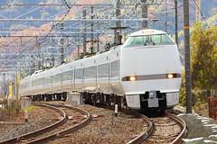Limited Express Thunderbird  --- 683 series --- (Teruhide Tomori) Tags: railway train japan japon jr railroad limitedexpressthunderbird jrwest limitedexpress 683系 tokaidoline kyoto 山崎カーブ 東海道本線 サンダーバード 日本 特急 電車 鉄道 列車 島本町 japanrailway