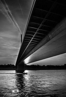 Bridge over the Rhine - Dusseldorf