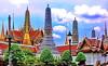 Bangkok Wat Phra Kaeo (gerard eder) Tags: world travel reise viajes asia southeastasia thailand bangkok watphrakaeo temple templos tempel pagoda outdoor palace palacio palast sacral sacred