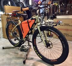 Surly ECR Build Completed (Doug Goodenough) Tags: bicycle bike pedals spokes rogue panda racks bikepacking packing camping surly ecr 29 plus moloko bar rohloff november 2017 nov 17 frame bag dyno hub salsa rear rack drg531