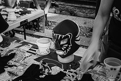 dod 09823 (m.r. nelson) Tags: dayofthedead diadelosmuertosmesa az arizona southwest usa mrnelson marknelson markinaz blackwhite bw monochrome blackandwhite bwartphotography portraits peopledíadelosmuertosfestivalmesa2017