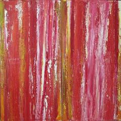 Rubinred Dschungel (Peter Wachtmeister) Tags: artinformel art modernart artbrut minimalart acrylicpaint abstract abstrakt popart surrealismus surrealism hanspeterwachtmeister