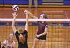 IMG_7685 (SJH Foto) Tags: girls volleyball high school garnet valley hempfield hs team net battle spike block action shot jump midair
