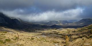 Amenaza tormenta en el Valle de Arbás  (León)  Spain
