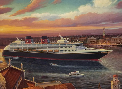 "Painting of the Disney Magic in Italy • <a style=""font-size:0.8em;"" href=""http://www.flickr.com/photos/28558260@N04/24562689728/"" target=""_blank"">View on Flickr</a>"