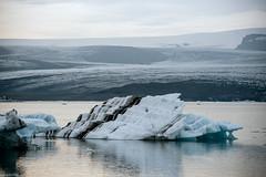 Jökulsárlón Lagoon - Iceland (Toine B.) Tags: iceland jokulsarlon landscape paysage nikon d750 hoya mer océan sable ciel eau plage sea glacier iceberg neige sigma 70200