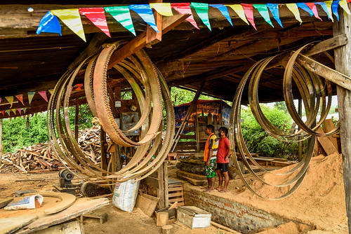 Trishakti Sawmill in Nawalparasi district, Nepal