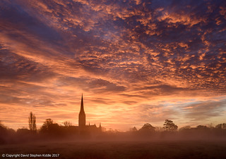 Sunrise over Salisbury