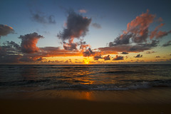 New Day (Matt Champlin) Tags: usa hawaii flickr mattchamplin travel kauai newday sunrise incoming instagram canon 2017 life nature landscape peace peaceful beach beautiful stunning paradise idyllic ocean sea waves colorful