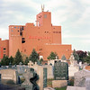 Newark, NJ (milicapetrovich) Tags: newjersey nj film portra400 outdoors daylight sunset graveyard cemetary budweiser factory