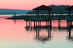Fishing Pier at Lake Dardanelle (fyimo) Tags: