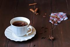 Tea Time! 1 (Giovanna-la cuoca eclettica) Tags: tè tea stilllife drink healthy vintage cup teacup spice break
