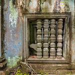 Ventana de templo en Beng Mealea, Siem Riep, Camboya thumbnail