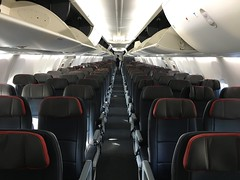 American's first 737 Max (airbus777) Tags: americanairlines boeing 737max8 7378 aircraft cabin interior economy seats