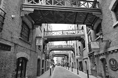 Walkovers (Douguerreotype) Tags: london monochrome bridge people blackandwhite uk british buildings street mono architecture city britain urban gb bw england