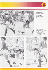 Bradford City vs West Bromwich Albion - 1989 - Page 17 (The Sky Strikers) Tags: bradford city wba west bromwich albion brom the valley parade littlewoods cup road to wembley official programme 80p