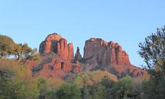 Cathedral Rock in Sedona, AZ (Craigs Travels) Tags: sedona az arizona redrocks southwest buttes sprials crescentmoonpicnicsiteoffofredrockcrossingroad vortex sunset crescentmoonpicnicsite redrockcrossingroad