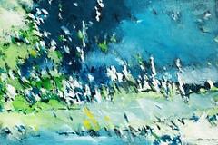 am-waldrand-120x80 (CHRISTIAN DAMERIUS - KUNSTGALERIE HAMBURG) Tags: moderne norddeutsche malerei landschaftsmalerei werke bilderwerk hamburg wer malt bilder acryl kunstgalerie auftragsmalerei auftragskunst acrylmalerei hafencity bildergalerie galerie container schiffe elbe hafen rapsfelder schleswigholstein zeichnung hell abstrakt fotorahmen text surreal