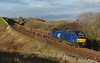 Blue Is The Colour (Feversham Media) Tags: birkettcommon birkett settlecarlislerailway settlecarlisle sc edenvalley cumbria class68 bigcats 68030 freighttrains