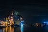 dredging at the port of san francisco (pbo31) Tags: bayarea nikon d810 color dark night black november 2017 fall urban city boury pbo31 sanfrancisco portofsanfrancisco islaiscreek channel port bay water reflection industrial shipping ship marine sail loading container service