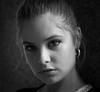 Irene (antonywakefield) Tags: monochrome mood model london londra portrait photography portraitunlimited bw blackwhite blackandwhite youth light shadows shade eyes tone