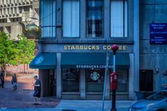 Starbucks (Love the teapot) (Kev Walker ¦ 7 Million Views..Thank You) Tags: americanrevolution architecture boston building canon1855mm canon700d city citycentre digitalart freedomtrail hdr historic massachusetts usa unitedstates