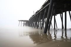 pismo beach pier by fog (tomflamy) Tags: pismobeach pier fog longtimeexposure california usa canon