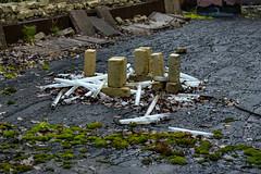 Chernobyl (Jorge Franganillo) Tags: kyivskaoblast ucrania chernóbil chernobyl ukraine radiactividad radioactivity ghosttown abandoned abandonado fluorescente fluorescent tubos fluorescenttube fluorescenttubes ladrillos bricks musgo moss