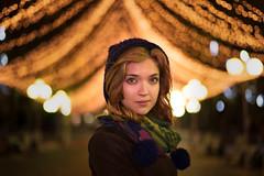 NIGHT LIGHTS (Ilya Arte) Tags: leica summilux 50mm summilux50mm asph por dark night love портрет ночь глаза огни lights christmas