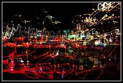 Complicated (VegasBnR) Tags: nikon sigma abstract vegas vegasbnr night lights lighttrails freeway city