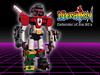 Nerdtron: Defender of the 80's (Oky - Space Ranger) Tags: lego bricknerd nerdvember nerdly nerdtron voltron defender 80s vehicles giant robot tmnt teenage mutant ninja turtles bttf back future ghostbusters ecto1 ateam van walkman