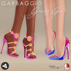 Group Gifts November&December 2017 (Ashleey Andrew) Tags: garbaggio secondlife second life virtual world fashion apparel accessories footwear shoes original mesh