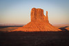Sunset on Mitten (gorbould) Tags: 2017 mittens monumentvalley navajotribalpark usa utah america butte buttes evening southwest sunset