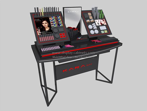 CS087 cosmetics display cases