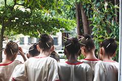 Art e Dance! (anamariansilva) Tags: verde ballet dancer japan kids children girls little vintage brazil rj shadows