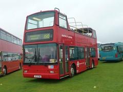 VP20 - X173 FBB. Formally numbered VP173. (wagn1) Tags: volvob7tl plaxtonpresidentbodywork mayoroflondon londoncentral londongeneral goahead eastthamesbuses londonbuses transportforlondon tfl londoneasylink durhamtransportservices buses showbus duxford cambridgeshire