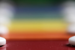 Listen to the rainbow song (Emmanuelle2Aime2Ailes) Tags: macromondays musicalinstruments macro instrumentdemusique xylophone colours