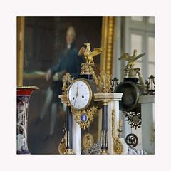 Chez le Prince de Talleyrand (Yvan LEMEUR) Tags: valençay indre châteaudevalençay intérieur histoire histoiredefrance talleyrand empire napoléon horloge art patrimoine princedetalleyrand berry france