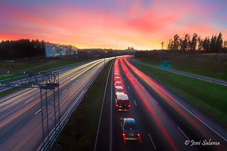 Highway 1 rush hour