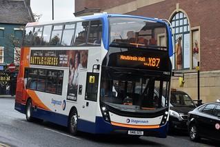 11918. Busways SN16OZS. Newcastle, 2017.