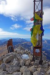 croce di vetta cima Uomo (Tabboz) Tags: montagna dolomiti vianormale roccia panorama vetta cima croce marmolada salita sentiero ghiaione corda discesa cordadoppia