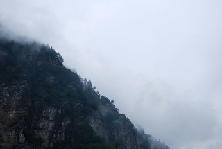 Sky and mountain