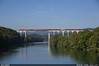 Red bridge (Marco Stellini) Tags: db cargo bahn br 185 traxx bombardier rhine eglisau brucke