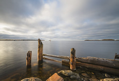 An Old Pier (Jyrki Liikanen) Tags: pier oldpier sea seashore seaside seascape sealovers seanature calm calmsea island water waterreflection waterscape sky skycapture skylovers skypainters three serene serenity tranquility harbour fishingharbour finland gulfofbothnia