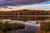 Autumn Sunset Reflections (Cole Chase Photography) Tags: upperpeninsula michigan autumn fall reflections
